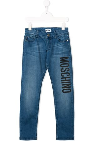 Moschino Mid rise stonewashed jeans