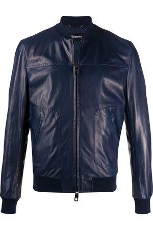 Dolce & Gabbana Bomber leather jacket