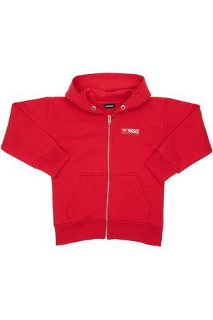 Diesel Logo Zip-up Sweatshirt