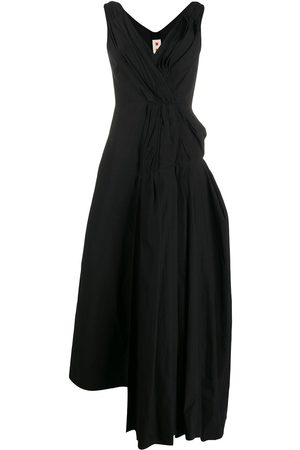 Marni Gathered drape detail dress