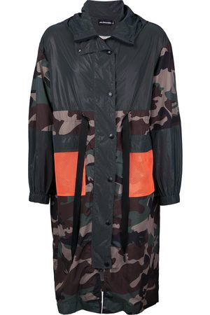 God's Masterful Children Camouflage print parka coat