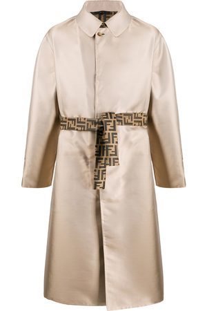 Fendi Single-breasted belted trench coat
