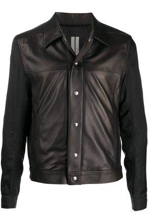 Rick Owens Leather short jacket