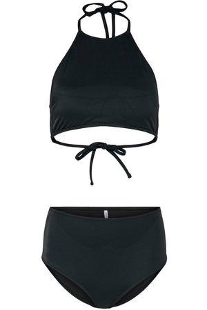 Only Halterneck Bikini Dames Zwart