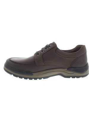 Mephisto Charles Dark Brown Veterschoenen