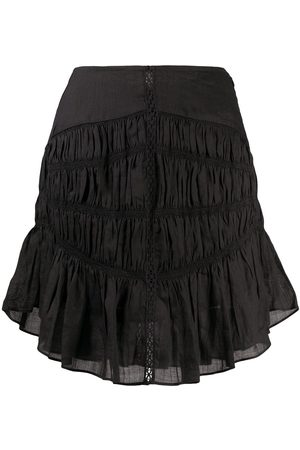 Isabel Marant Tiered-gathereing A-line mini skirt