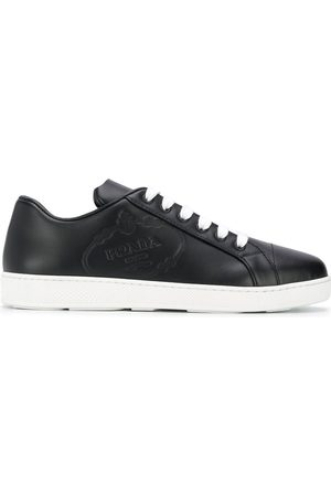 Prada Logo embossed sneakers