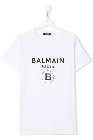 Balmain Short sleeve logo T-shirt