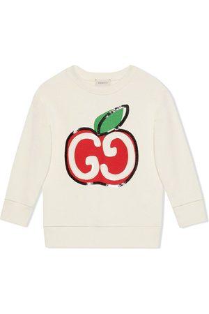 Gucci GG apple print sweatshirt