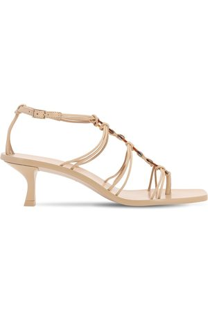 Cult Gaia 50mm Ziba Leather Sandals