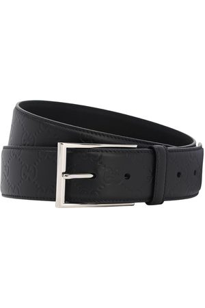 Gucci Heren Riemen - Logo Leather Belt