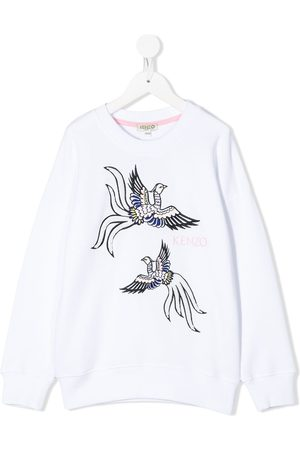 Kenzo Embroidered bird sweatshirt