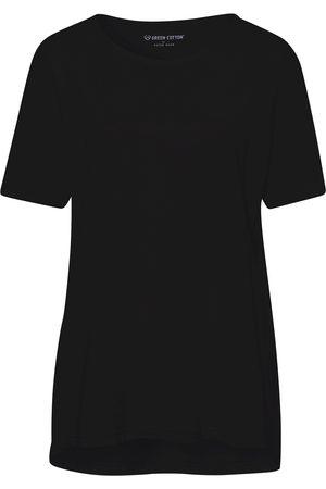 Green Cotton Shirt van 100% katoen korte mouwen