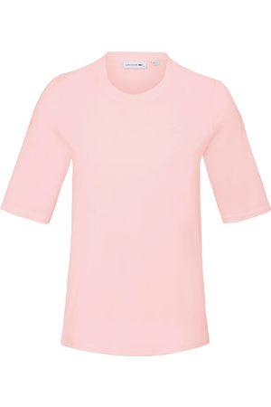 Lacoste Shirt 100% katoen ronde hals Van lichtroze