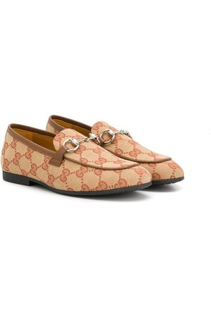 Gucci GG Supreme flat shoes
