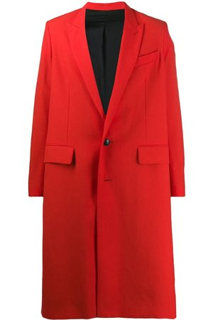 Ami Men Lined Two Buttons Long Coat