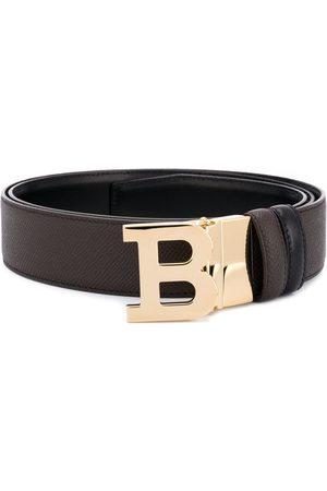 Bally Heren Riemen - B logo buckle belt