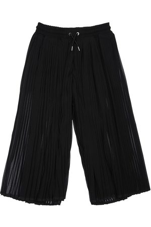 DIESEL KIDS Plisse Georgette Wide Leg Pants