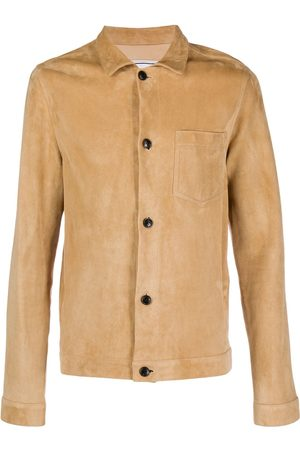 Ami Men Suede Overshirt