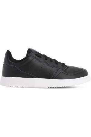 adidas Supercourt Leather Lace-up Sneakers