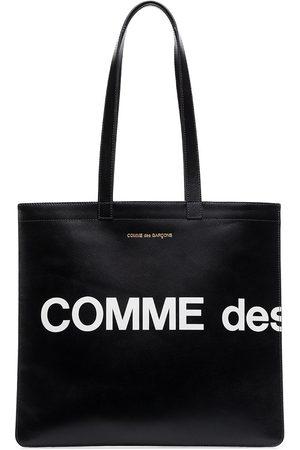 Comme Des Garçons Wallet Heren Shoppers - Logo tote bag