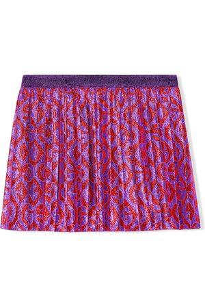 Gucci Kids G rhombus motif skirt