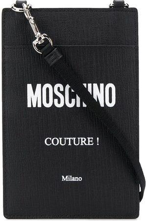 Moschino Strap logo card holder