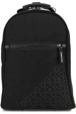 Dolce & Gabbana Kids Jongens Rugzakken - Cordura nylon wheelie bag
