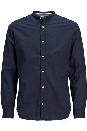 Jack & Jones Maokraag Overhemd Heren Blauw