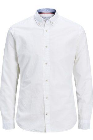 Jack & Jones Button-down Linnen Overhemd Heren