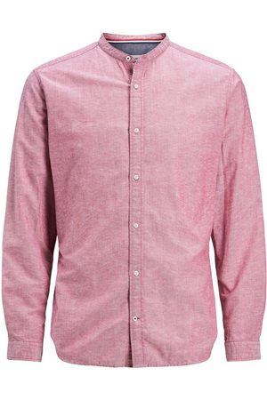 Jack & Jones Maokraag Overhemd Heren Rood