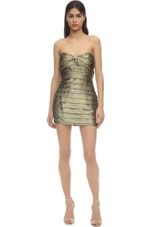 For Love & Lemons Dames Korte jurken - Juliette Brocade Mini Dress