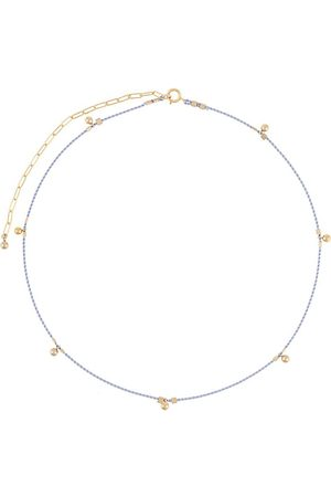 Petite Grand Ball drop cord necklace