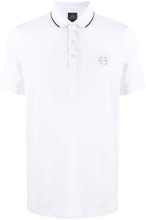 Armani Embroidered logo polo shirt
