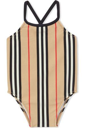 Burberry Icon stripe swimsuit