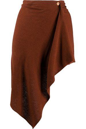 ROMEO GIGLI 1990s asymmetric short skirt
