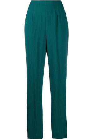 ROMEO GIGLI 1990s micro pleated tapered trousers