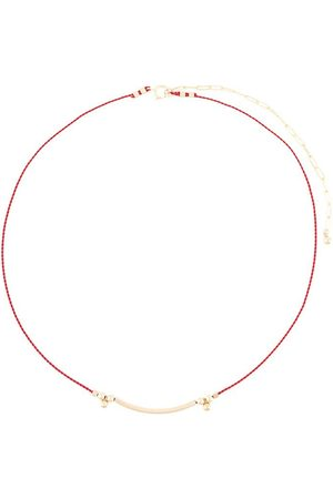 Petite Grand Bar cord necklace