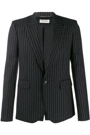 Saint Laurent Metallic stripes blazer