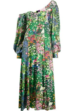 Natasha Zinko Floral-print asymmetric dress