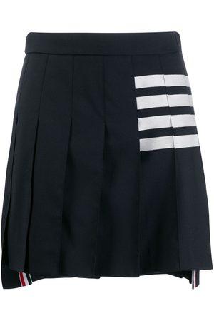 Thom Browne 4-Bar pleated mini skirt