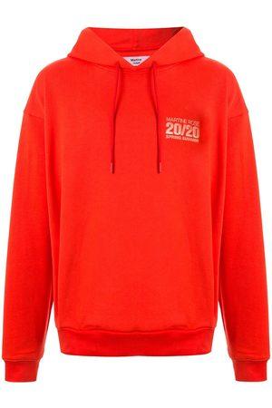 Martine Rose Drawstring logo hoodie