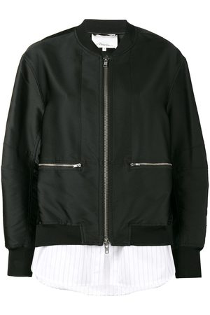 3.1 Phillip Lim Layered Bomber Jacket