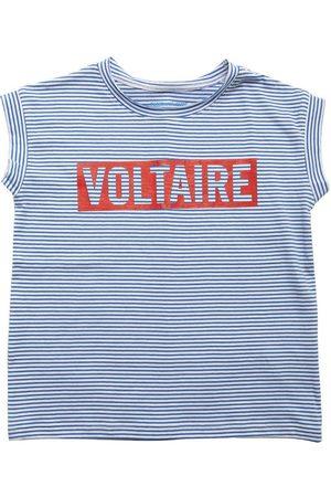 ZADIG&VOLTAIRE Logo Striped Cotton Jersey T-shirt