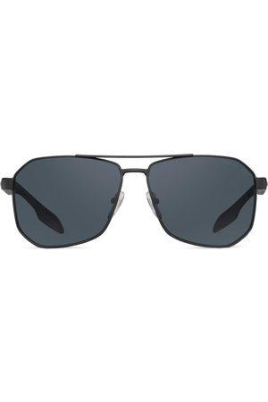 Prada Linea Rossa aviator sunglasses