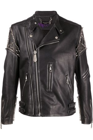 Philipp Plein Biker Plein jacket