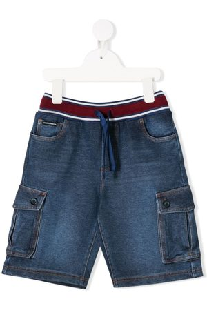 Dolce & Gabbana Flap-pocket drawstring shorts