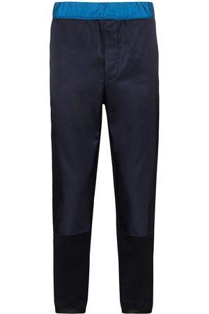 Prada Dual-textured track pants
