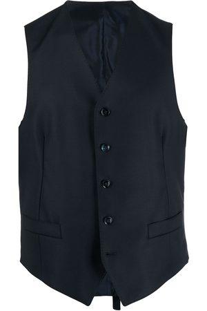 Dell'oglio Single-breasted wool waistcoat