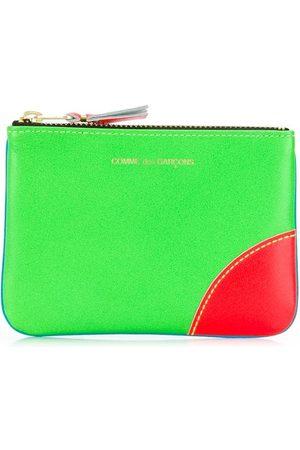 Comme Des Garçons Wallet Colour block coin wallet